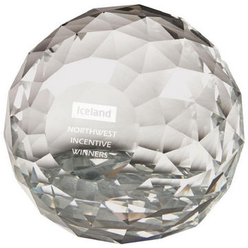 'Crystal Maze' Paperweight Award