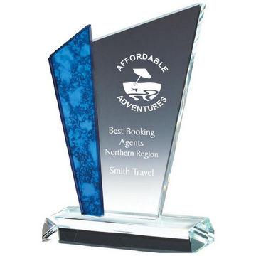 Glass Upright Award