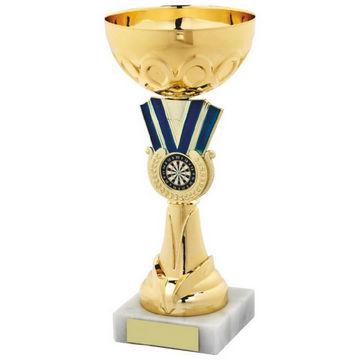 Gold Blue Bowl Award