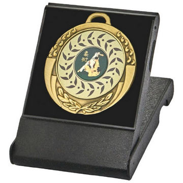 70mm Medals in Presentation Cases