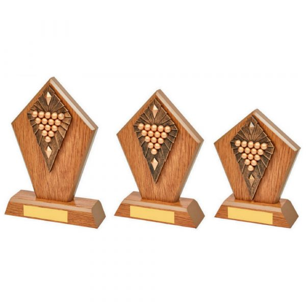 Wood Stand with Resin Pool/Snooker Trim