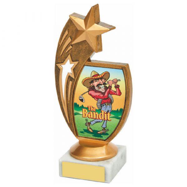Antique Gold Star Awards - 'The Bandit'